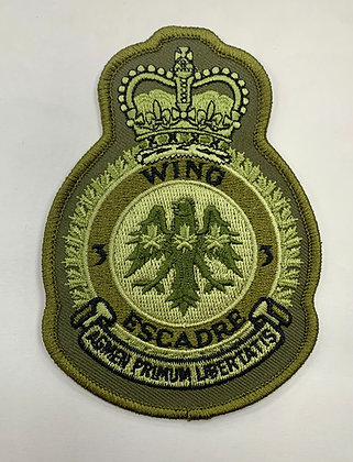 3 Wing Heraldic Patch