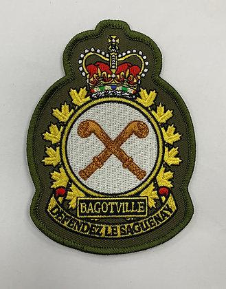 Bagotville heraldic on LVG