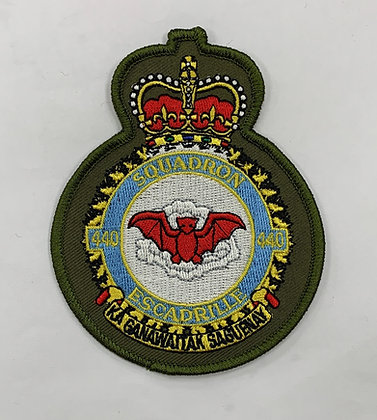 440 Heraldic Patch full color on LVG
