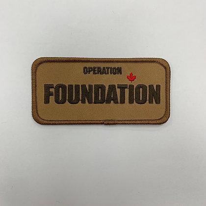 Op Foundation Patch