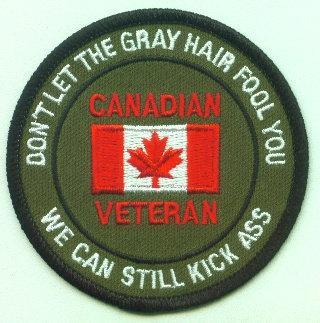 Canadian Veteran Grey Hair