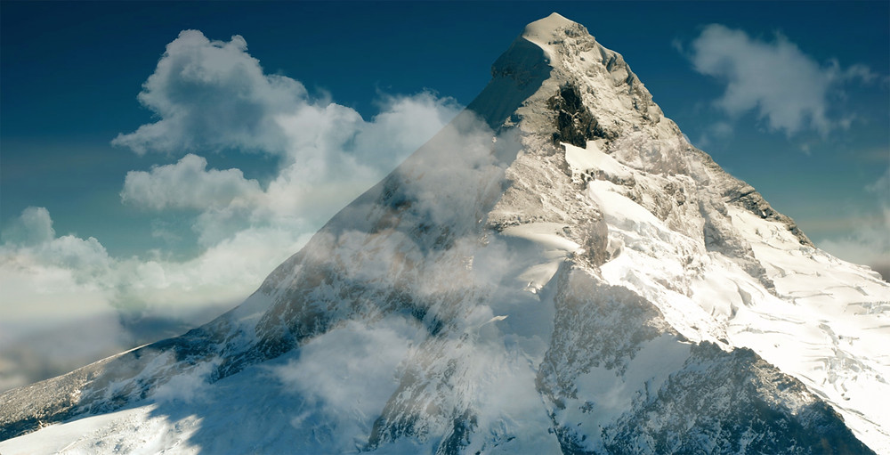 hoher Berg, unerreichbares Ziel