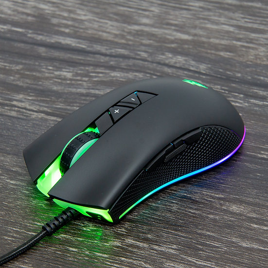 1ST Player Fire Dancing Pro FD300 RGB Gaming Mouse