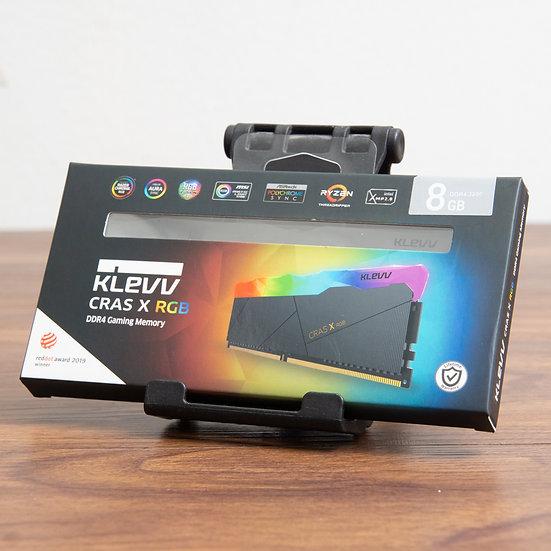 KLEVV Cras X RGB 8GB DDR4-3200 Gaming Memory