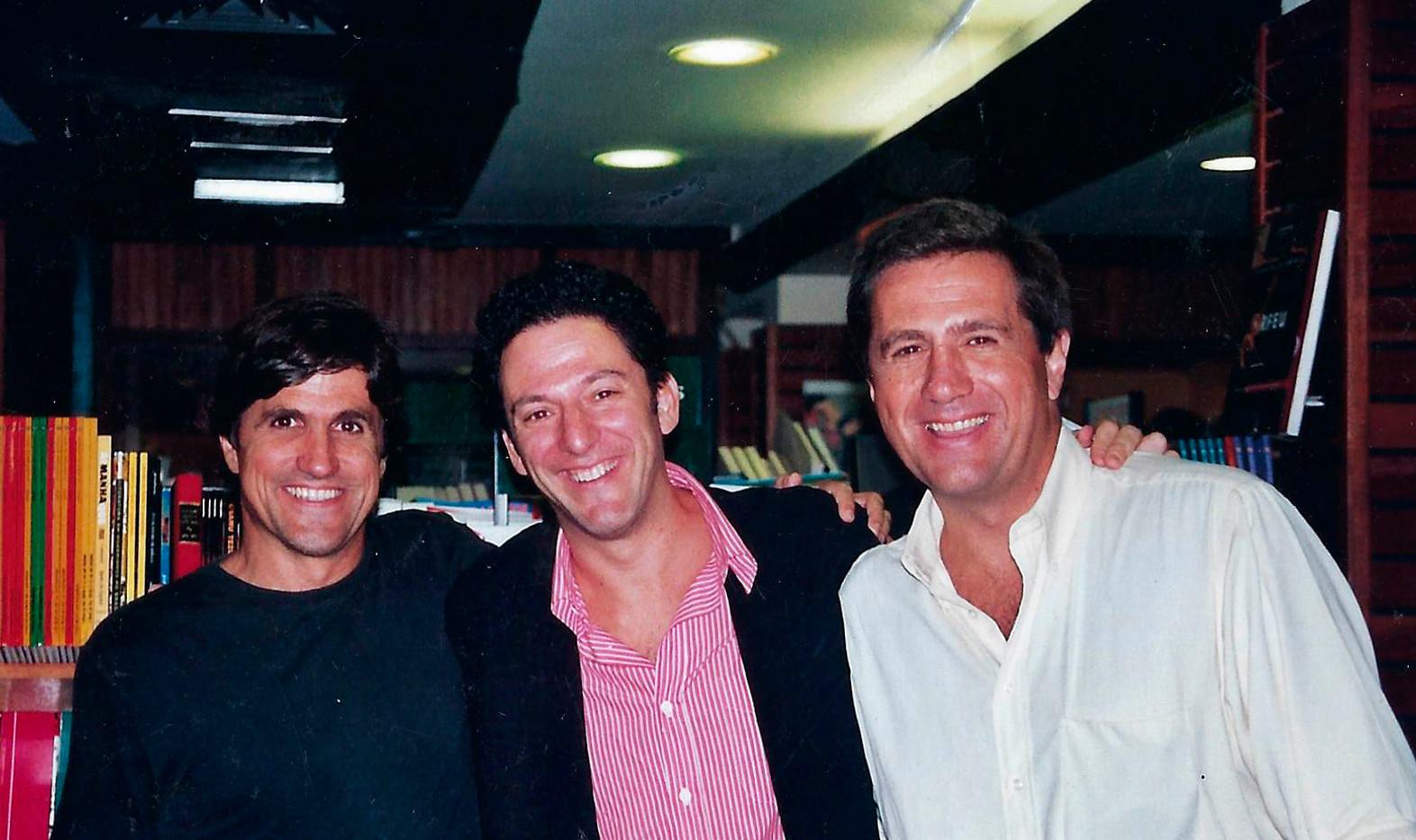Marcus Gasparian, Pizzarelli e Eduardo Gasparian
