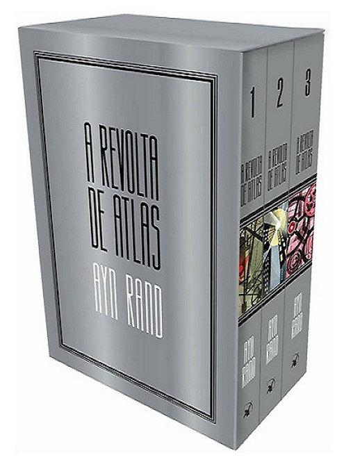 A revolta de Atlas - Edição de luxo em 3 volumes