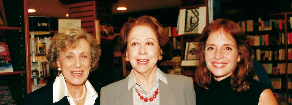 Dalva Gasparian, Fernanda Montenegro e Olivia Byington