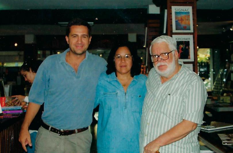 Eduardo Gasparian, Beth e Manoel Carlos