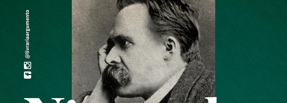 """Cartaz curso """"Nietzsche"""" com Pedro Duarte na Argumento Leblon"""