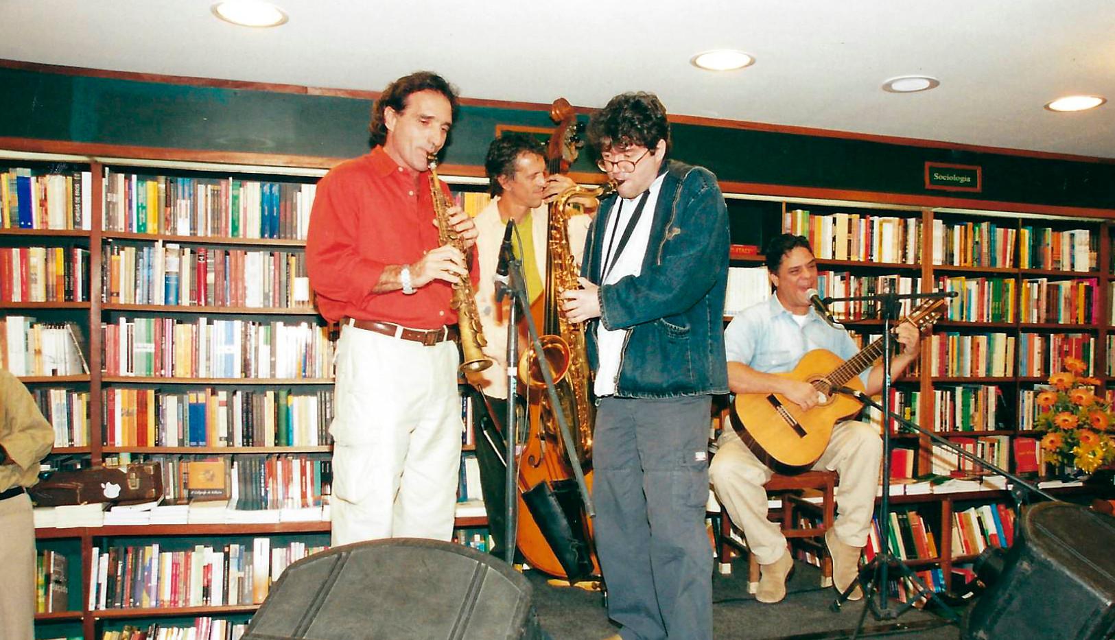 Edgar Duvivier, Aroeira, Bruce Henry e pablo Pessanha