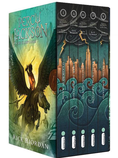 Box Percy Jackson e os Olimpianos - 05 volumes