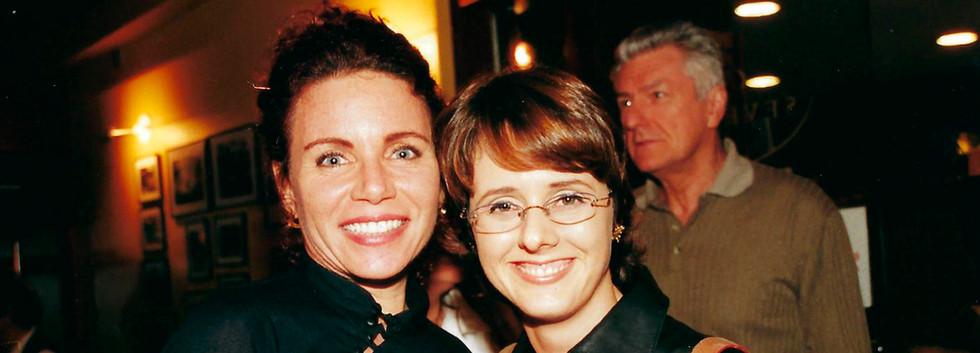 Leilane Neubarth e Bianca Ramoneda