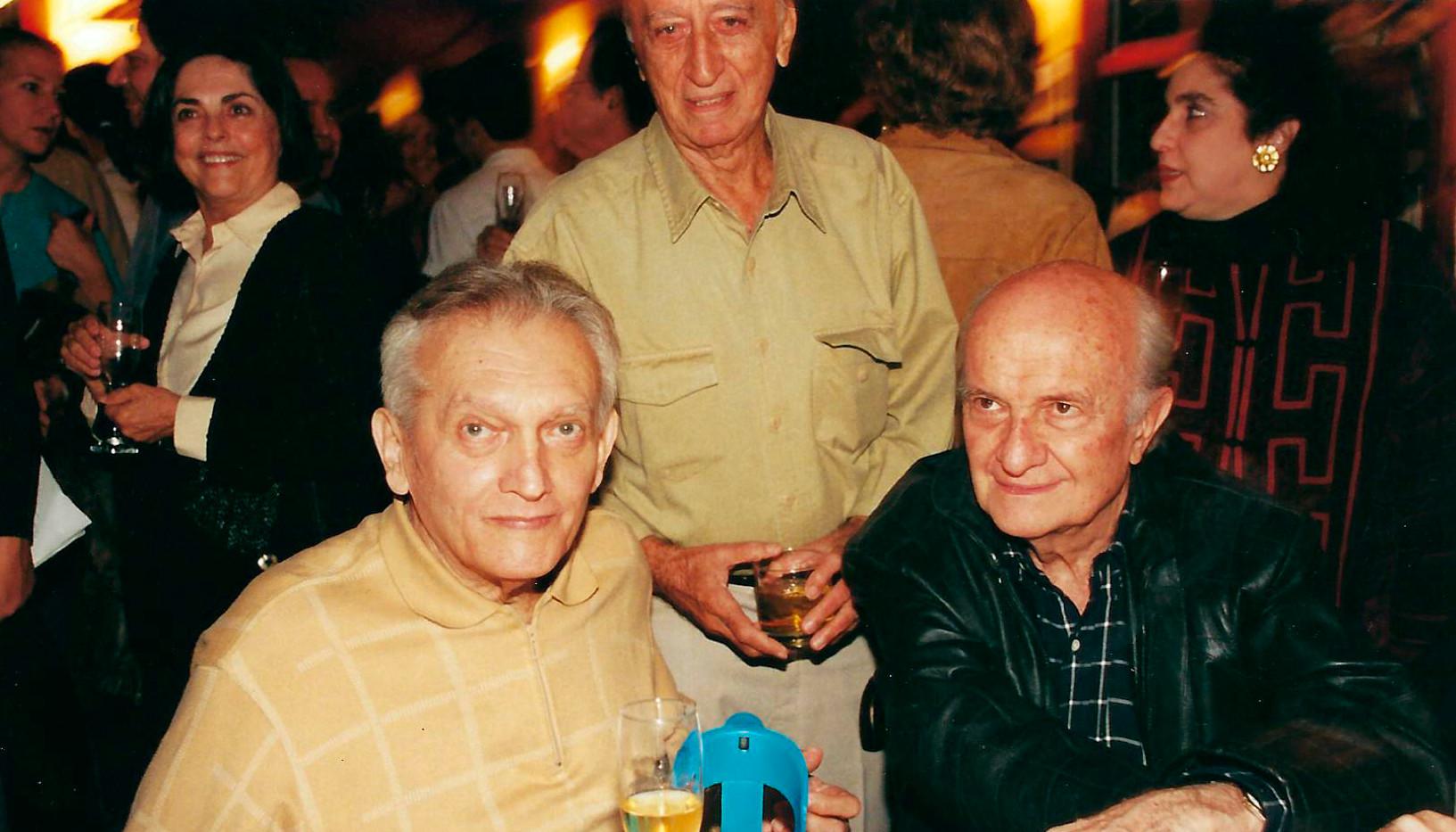 Celso Furtado, Millôr Fernandes e Afonso Arinos de Mello Franco