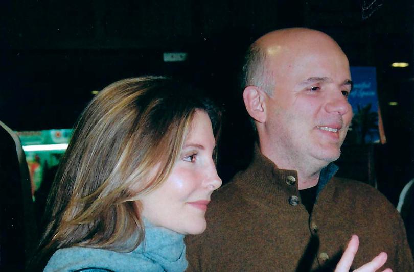 Maria Padilha e Bruno Barreto