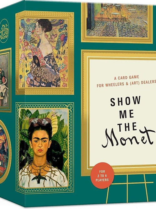 Show Me The Monet - A card game for wheelers & (art) dealers