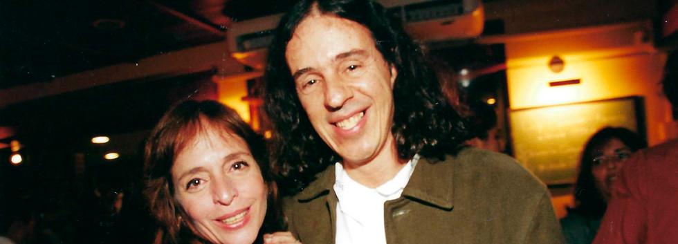 Olivia Byington e Geraldinho Carneiro