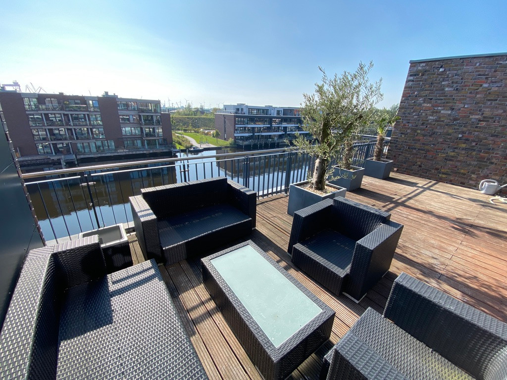 Penthouse-Wohnung über 2 Etagen