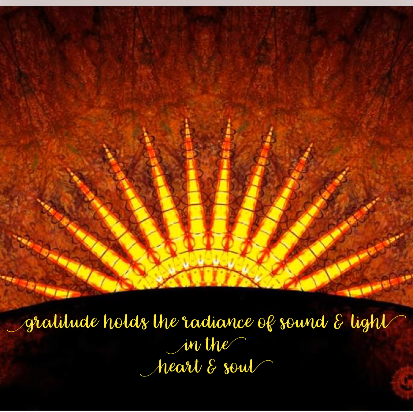 The Sound of Gratitude Sound Healing