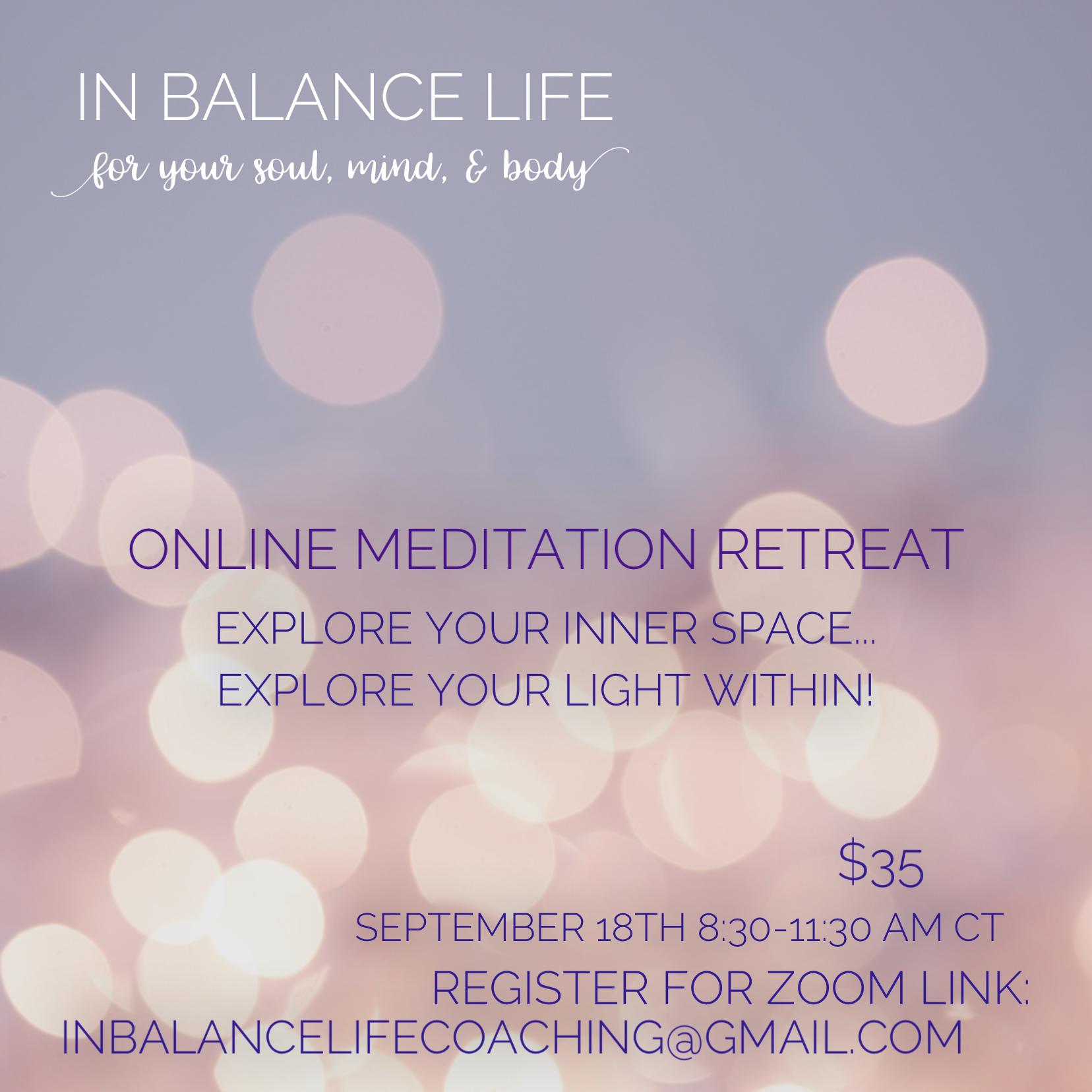 Full Moon Meditation Retreat