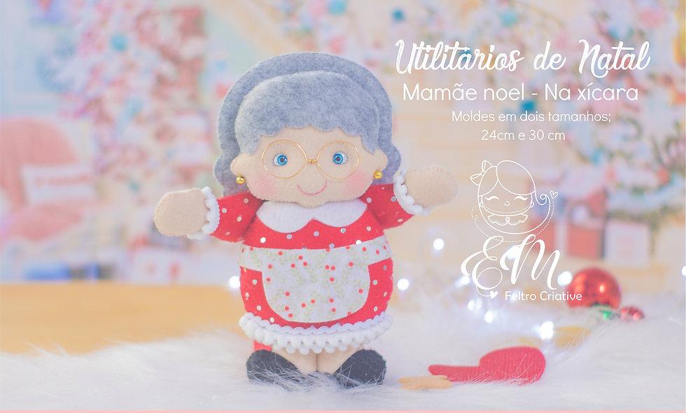 Oficina de Natal - Utilitários - Mamãe noel
