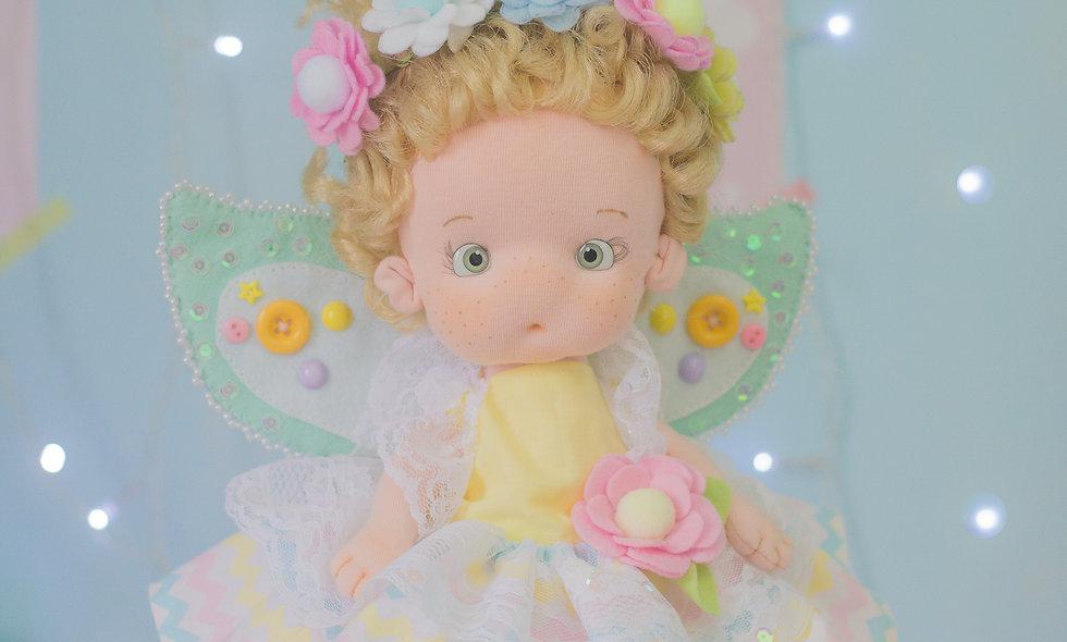 Combo Régua de moldes duráveis boneca Russa FADA + vídeo aula.