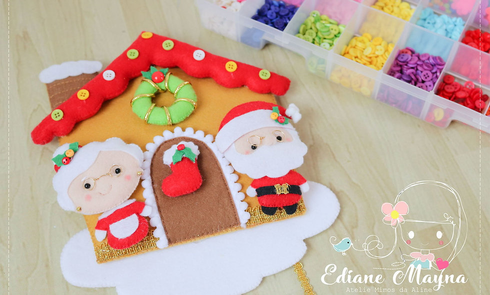 workshop casinha  de Natal