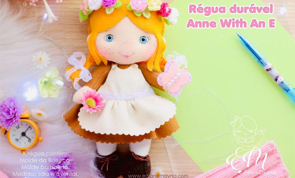 Régua Anne With an E.(molde durável )