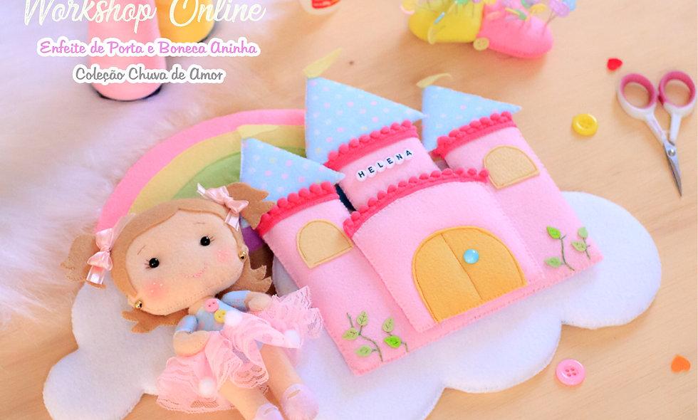 Workshop Castelo Princesa Chuva de Amor