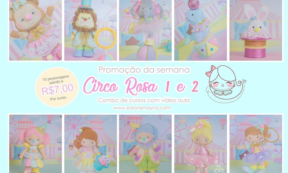 Combo Circo Rosa