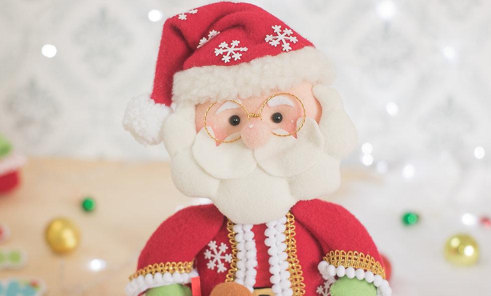 Caderno de moldes papai Noel com vídeo.