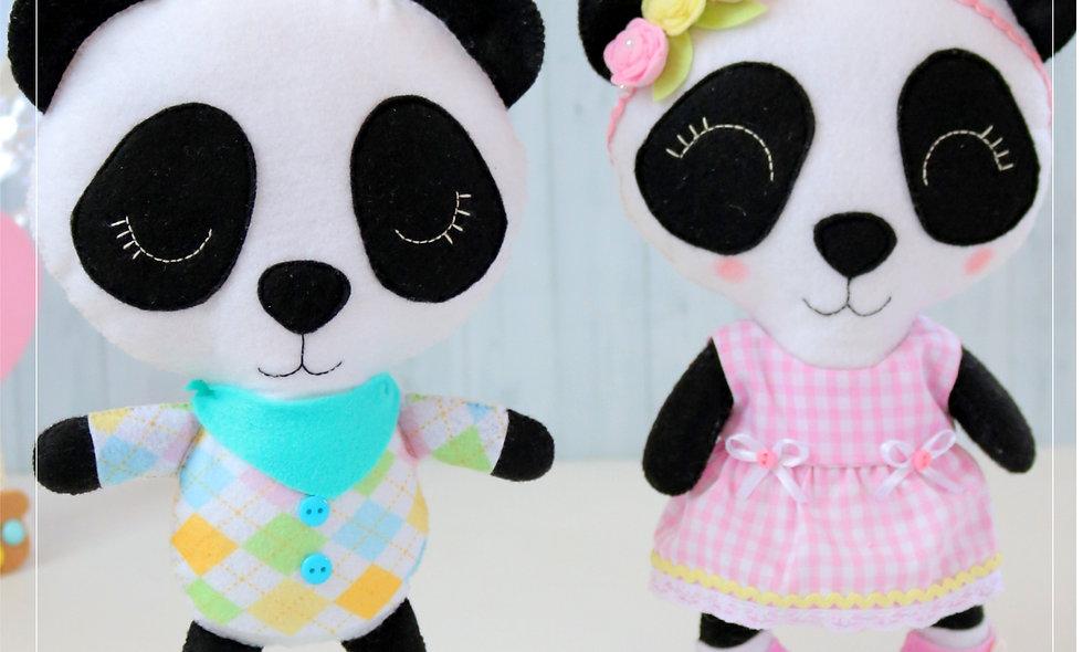 Feltro Apostila Digital Pandas