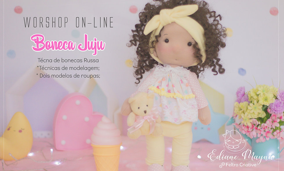 Workshop - Boneca Juju - 01