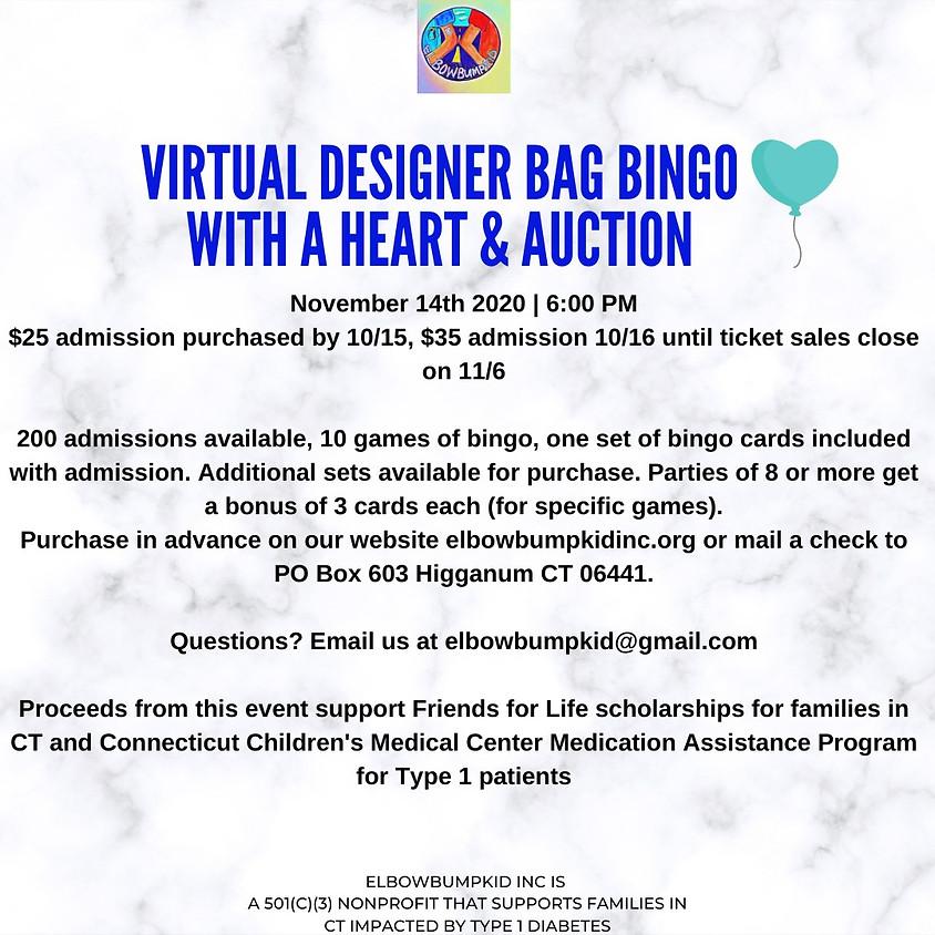 VIRTUAL BINGO WITH A HEART & AUCTION