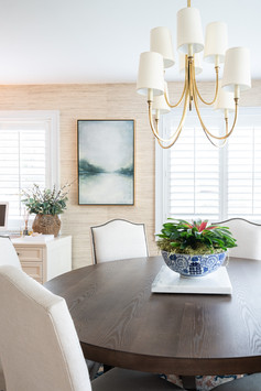 Transitional Dining Space