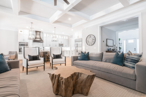 Modern Farmhouse Living Space