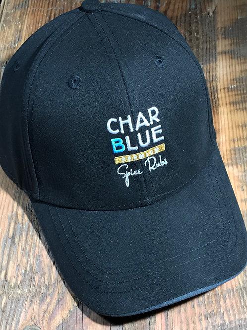Char Blue Microfiber Cap