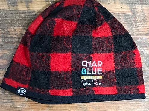 Canadian Red Plaid Toque