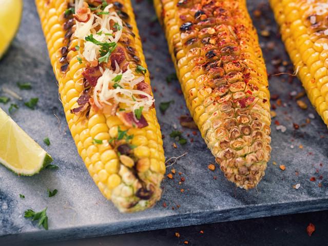Savoury Grilled Corn