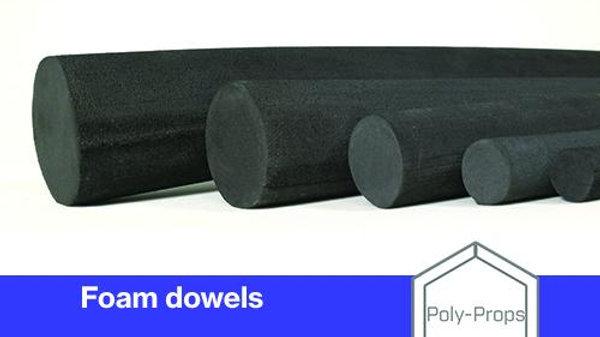 Foam Dowels 1m