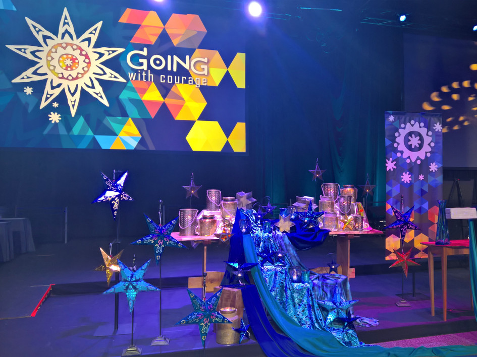Worship visuals for the 2016 United Methodist General Conference in Portland, Oregon