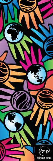 Hands That Serve banner #2: Todd Pick, 2007.