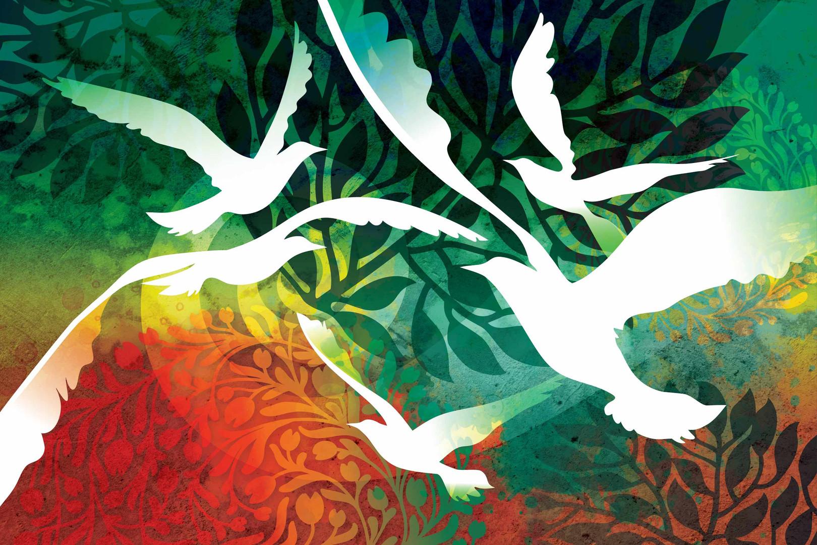 """""""Birds of Heaven"""""""