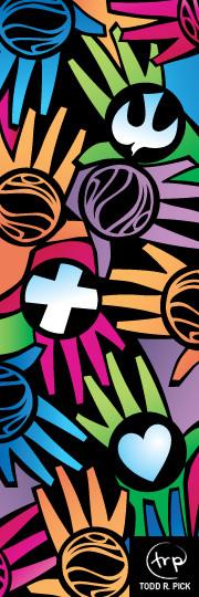 Hands That Serve banner #1: Todd Pick, 2007.
