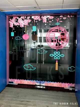 CNY Glass Door Installation