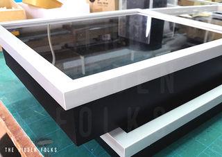 Lego set frame display