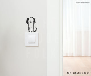 Wall Switch - DECAL#910
