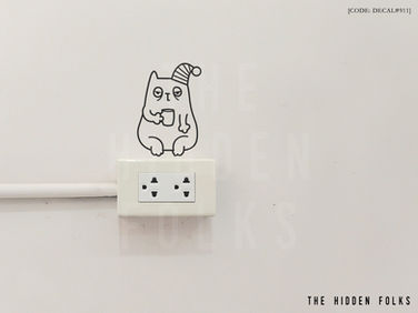 Wall Switch - DECAL#911