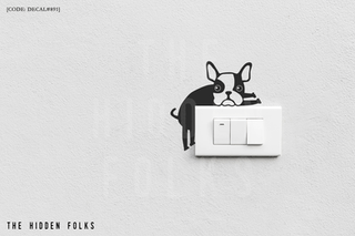 Wall Switch - DECAL#891