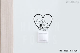 Wall Switch - DECAL#913