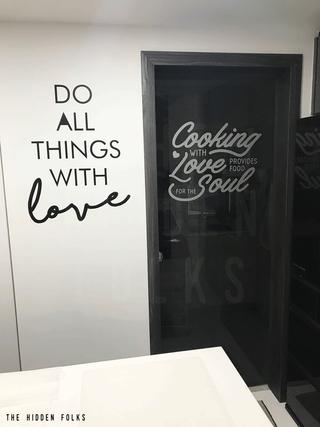 Wall & Glass door decals